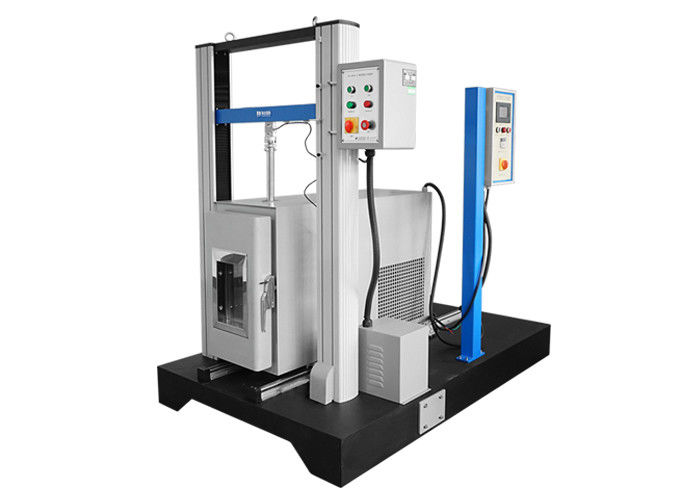 Compression Test Machine  Tensile Tester With Temperature Chamber For Hardware Leather